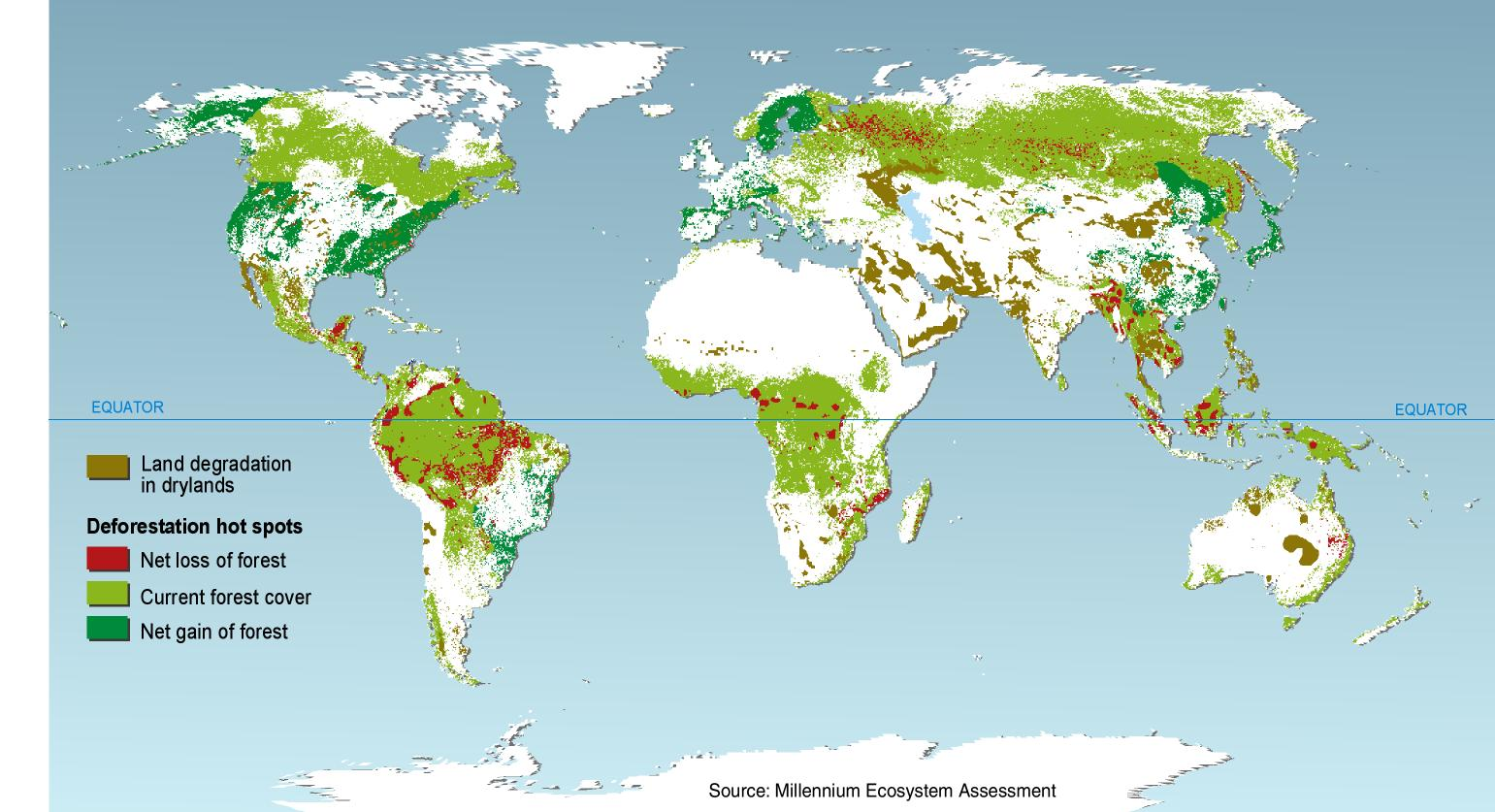 Deforestation Myth Map